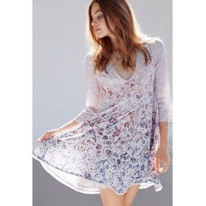 Ecote | Urban Outfitters Floral Babydoll Dress